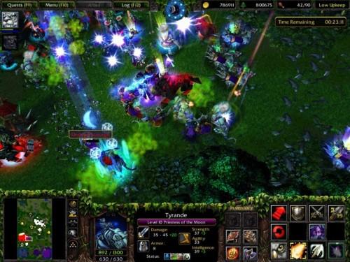 Warcraft III gameplay